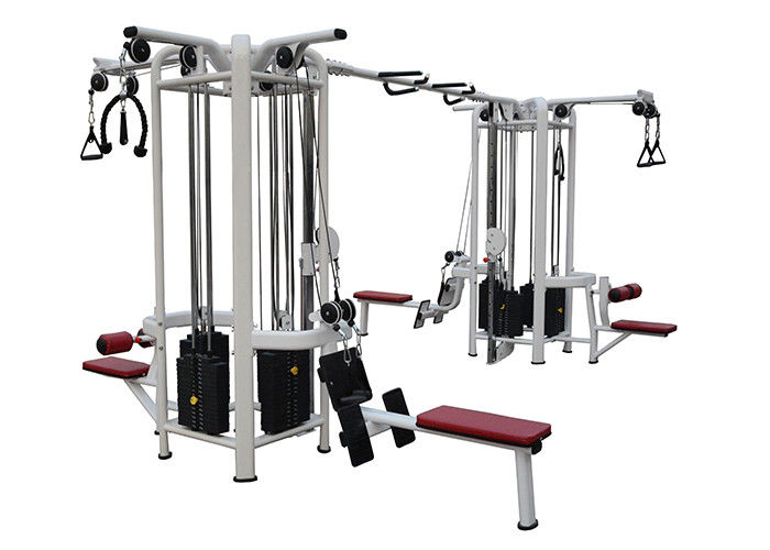 Commercial Multi Jungle 8 Station Gym Fitness Machine For Body Building
